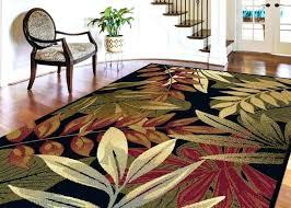 coastal area rugs 8x10 outdoor area rugs elegant 7 6 x 9 tropical palm fl coastal