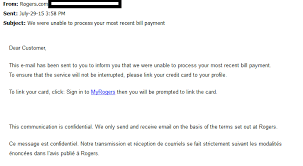 Phishing Emails At Concordia