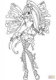 Disegno Di Sirenix Stella Da Colorare Disegni Da Colorare E