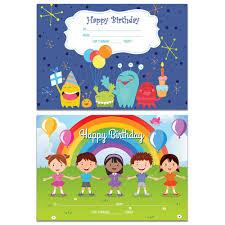 Happy Birthday Avery Avery 69646 Merit Certificates Happy Birthday A5 Pack 36 Office