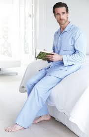 Mens Designer Pyjamas Mens Tie Waist Luxury Two Fold Cotton Pyjamas Winter