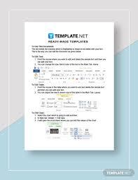 Financial Ratio Analysis Template Word Google Docs
