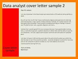 Cover Letter Market Data Analyst 7 Cover Letter Data Analyst Self