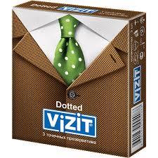 Отзывы про <b>Презервативы Vizit</b> (Визит) <b>Dotted</b> точечные 3 шт ...