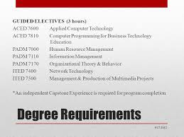 computer tech degree masters in education degree adult career education business
