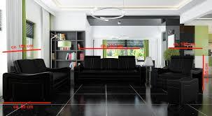 Sofagarnitur Polster Sofa Couch Leder Garnitur Wohnlandschaft 321 Franco Neu
