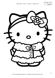 Coloring Page Hello Kitty Greenhats Info