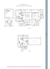 ascentia sky 5 bedroom duplex floor plans type dp 1