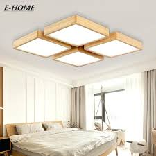 creative bedroom lighting. Unique Bedroom Lighting Creative New Modern Solid Ceiling Simple Living Room Lamp Wood