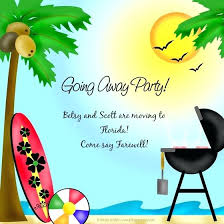 Free Going Away Party Invitations Free Going Away Cards Salabs Pro