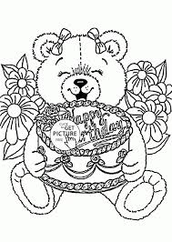 All our coloring pages are easy to print. Get This Happy Birthday Coloring Pages Free Printable 61840