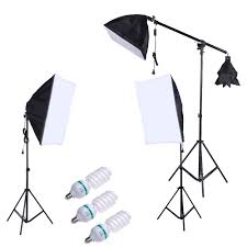 professional photography photo lighting kit set with 5500k 135w s eu tomtop com