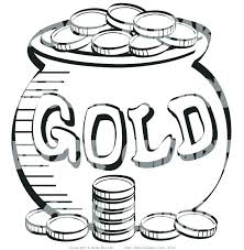 jewelry coloring pages coins coloring page coloring page of a stack coins near pot leprechauns gold jewelry coloring pages