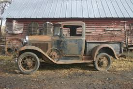 1931 Ford Model A pickup truck. Taste that PATINA! | 1930 & 1931 ...