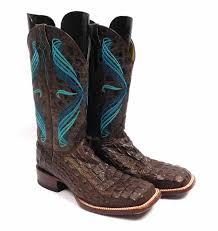 Men S Cavender S Chocolate Hornback Boots Sz 7 D