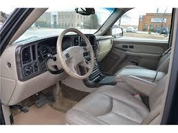 2003 gmc yukon denali front seats interior
