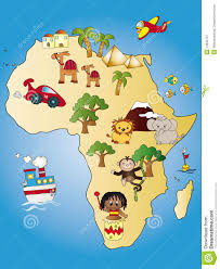 Dessin De La Carte Dafrique L