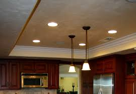 clouds ceiling spotlights kitchen