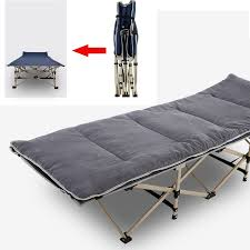 Office chaise Gray Outdoor Folding Bedchair Chaise Lounge Beach Camping Bedhome Office Nap Bed Sleep Reclinerfishing Portable Folding Camping Cot Furniture Experts Outlet Weekends Only Outdoor Folding Bedchair Chaise Lounge Beach Camping Bedhome Office