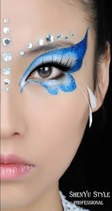 21 creepy and cool face painting ideas fairy eye makeup