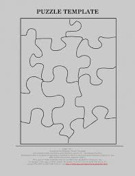 Luxury Puzzle Template 10 Pieces Image Collection - Example Resume ...