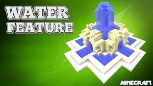 Minecraft Water Fountain Designs Minecraft Tutorial City Water Fountain Tu33