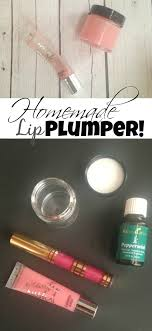 diy homemade lip plumper