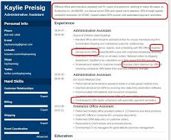 Resume Profile Examples 25 Professional Profile Examples Tips