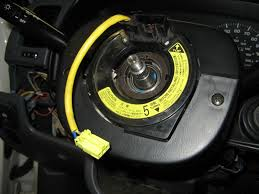 steering wheel spiral cable clock spring tech pirate4x4 com at this point if you need to replace the spiral cable remove the cover from the steering column 3 screws and then 4 small screws and a couple plugs
