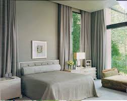Excellent Grey Bathroom Ideas With Grey Cotton Covering Queen Platform Bed  Sheet As Well As Ceiling To Floors Handmade Modern Drapes In Grey As  Inspiring ...