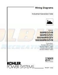 kohler product literature tp 6777 kohler generators online kohler wiring diagram manual industrial generator sets models 500reozvb 500reozvc 550reozv 600reozv 550reozvb 600reozvb controllers decision