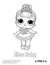 Lol Surprise Doll Coloring Pages Luxury Lol Doll Coloring Pages I