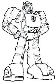 Transformer Coloring Pages Transformers Coloring Pages Online