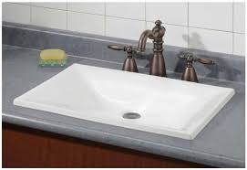 image of estoril contemporary rectangular sink cheviot model 1180