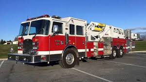 Fire Towers For Sale 2001 Kme 95 Mid Mount Ladder Tower For Sale Youtube