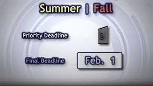 byu deadlines byu application byu advertising application 2009