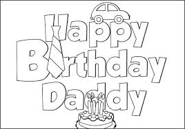 Birthday Card Coloring Page Awesome Free Printable Happy Birthday