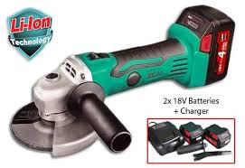 cordless grinder. dca adsm100 cordless 18v angle grinder kit i