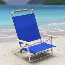 copa 5 position lay flat aluminum beach chair pacific blue com