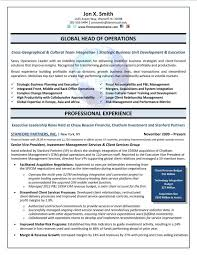Global Operations Director (COO)  Chief Operations Officer Resume Sample
