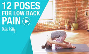 12 yoga poses to relieve lower back pain video