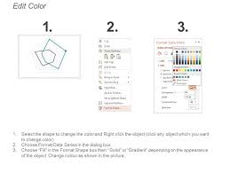 O Ring Colour Chart 8472223 Style Cluster Concentric 3 Piece Powerpoint