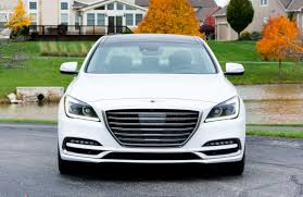 2018 Genesis G80 3.8 AWD Front