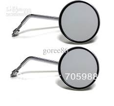 universal motorcycle round mirrors 8mm motorcycle mirrors rearview