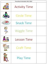 School Daily Schedule Template Download Timetable For Teachers ...
