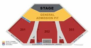 Alpine Valley Lawn Seating Chart Verizon Arena Seat Online Charts Collection