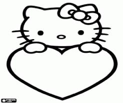 Kleurplaten Hello Kitty Kleurplaat