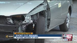 Car crashes lead to dangerous body shop repairs - YouTube