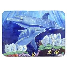 under the sea rug dolphin under the sea memory foam bath rug area rugs round contemporary