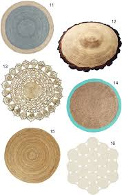 surprising idea round natural fiber rug get the look 16 jute rugs